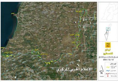 החיזבאללה מפרסם מפה המציינת היכן ישראל מחפשת מנהרות חדשות בדר' לבנון