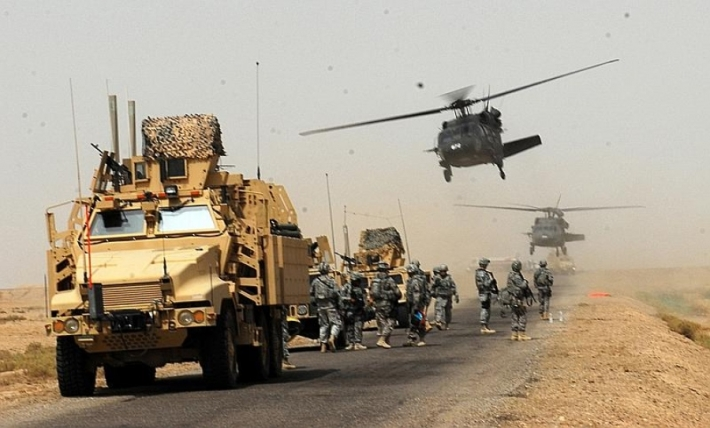 US Military Convoy of 60 Vehicles Enters Iraq from Jordan: Source