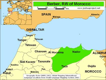 Berber, Rifi in Morocco