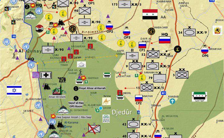 ברקע מתקפה סורית גדולה הצפויה על הדרום:המצב בשטח.