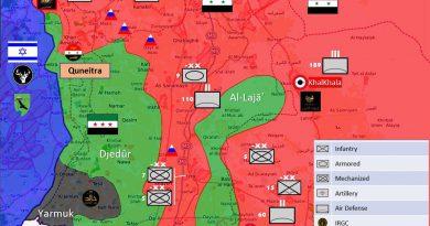"""""""אלעאלם"""" האירני:נשק מסוכן הועבר מירדן למורדים הנלחמים בדרום סוריה"""