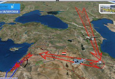 רוסיה מקדמת כוח משימה אווירי לשדה תעופה באירן