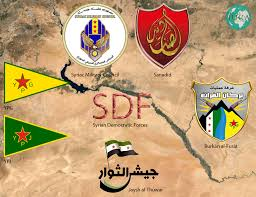Image result for syrian democratic forces