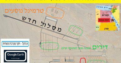 מצרים:המשך עבודות פיתוח בשדה התעופה הצבאי ראס בנאס – פרק 33