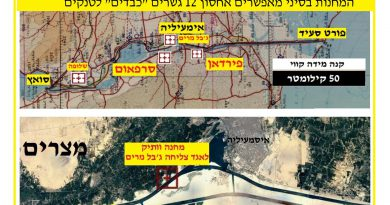 צבא מצרים בנה בסיני מחנות חדשים ליחידות צליחה – פרק 38