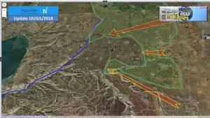 הותקפה עמדת צבא סוריה ליד גבול הגולן הדרומי. האם גם החיזבאללה שם?