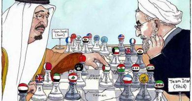 משחק השחמט הסעודי במזרח התיכון