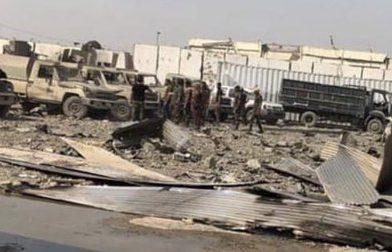 מה עושים כלי רכב צבאיים מאיראן במחסן הנשק שהתפוצץ ליד בגדד?