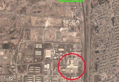 2 אתרי אחסון טילים איראנים התפוצצו ליד בגדד. הוכחה בשיטת גיאו-לוקיישן