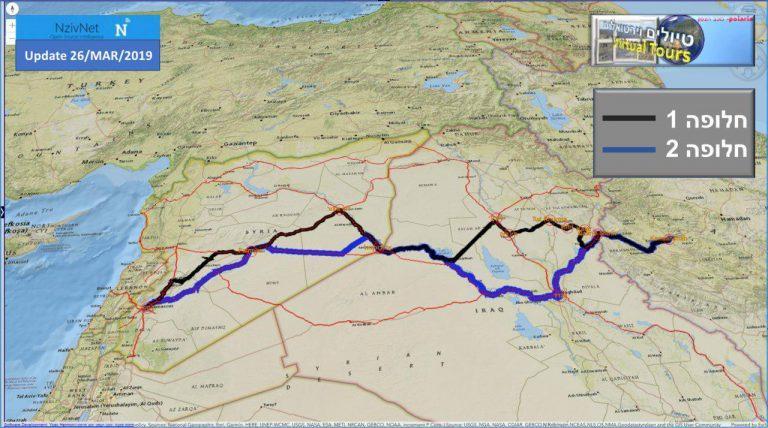 תקיפת מתקן איראני במזרח סוריה