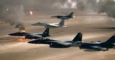 29 שנים למלחמת המפרץ:15 מפציצים עיראקים הוכנו לתקיפה כימית על ישראל