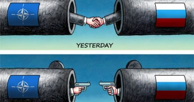 """יחסי רוסיה-נאט""""ו : אתמול והיום"""