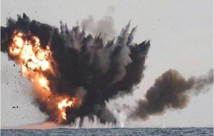 חיל הים הסעודי השמיד סירת תופת של החות'ים שיצאה לבצע פיגוע בים האדום