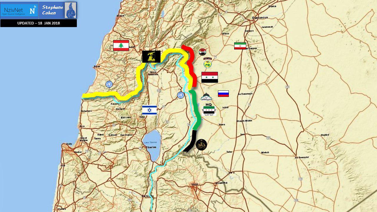 Résultat d'image pour le sud de la Syrie