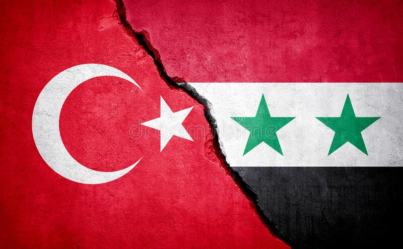 Turkey And Syria Conflict Concept Image Stock Image - Image of ...