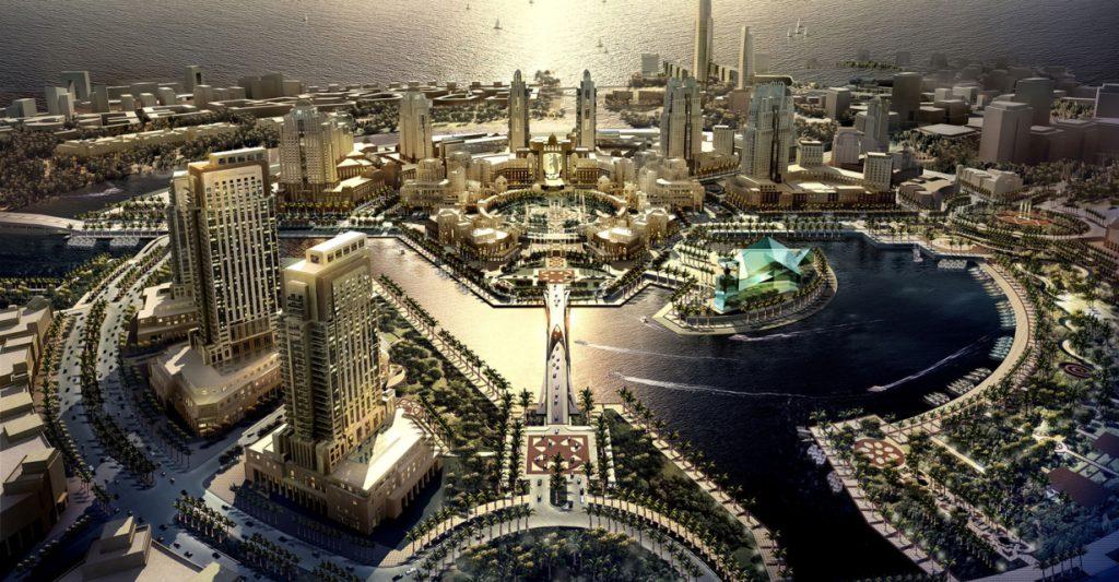 """העיר הכלכלית ע""""ש המלך עבדאללה"""