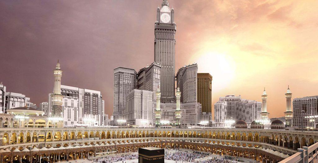 מלונות סביב המסגד הגדול, מכה