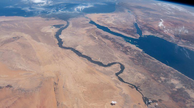 הנילוס בצילום מהחלל