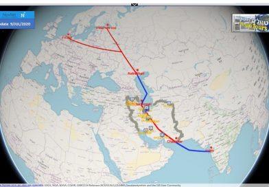 איראן מודיעה על חידוש פרויקט מסדרון תעבורה חלופי לתעלת סואץ
