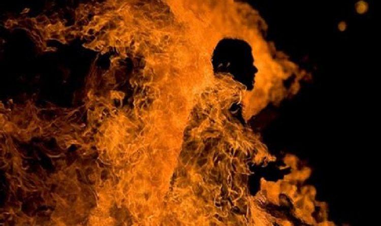 Iran-Self-immolation-burn-to-death
