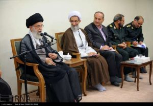 2-Khamenei-meeting-with-IRGC-and-Mullas-No-shoes-p1