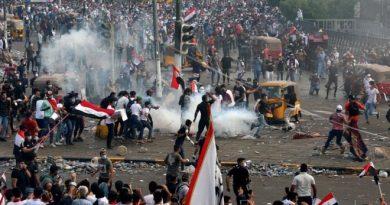 """ירי הקטיושה לעבר שה""""ת של בגדד עורר כעס ברחבי עיראק לאחר קטילת משפחה"""