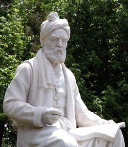 Statue-of-Ferdowsi-in-Tus,-Iran-1