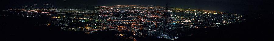 Tehran-Night-Panorama