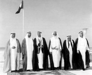 The-UAE-rulers-2- December-1971