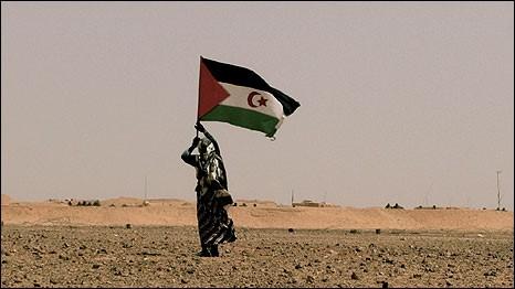 Saharawi-Rais-Flag-infron-of-the-Wall
