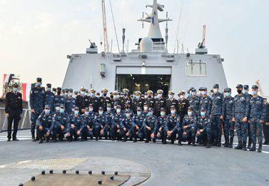 קורבטה חמקנית חדשה מתוצרת מקומית הצטרפה לכוחות חיל הים המצרי