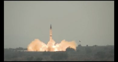 פקיסטן בצעה ניסוי ירי של טיל בליסטי המסוגל לשאת ראש נפץ גרעיני