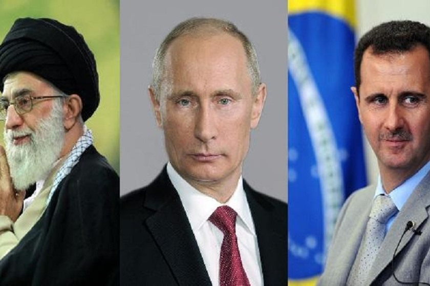 Image result for russia iran syria