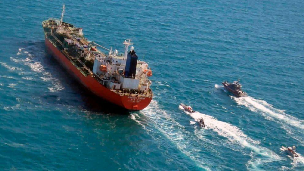 Un diplomate sud-coréen en Iran pour la saisie d'un navire et le gel des fonds - ABC News