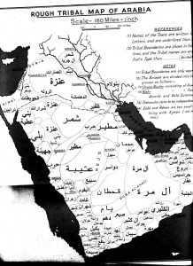 Yemeni-Tribes-early20s-Harold-dixon-Map-1