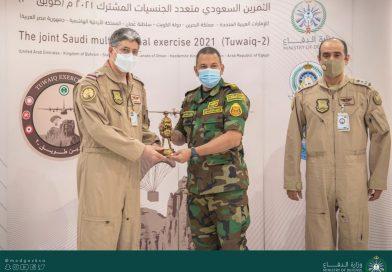"""""""Twaiq 2"""" :הסתיים תרגיל אווירי בערב הסעודית בהשתתפות מדינות מהמפרץ"""
